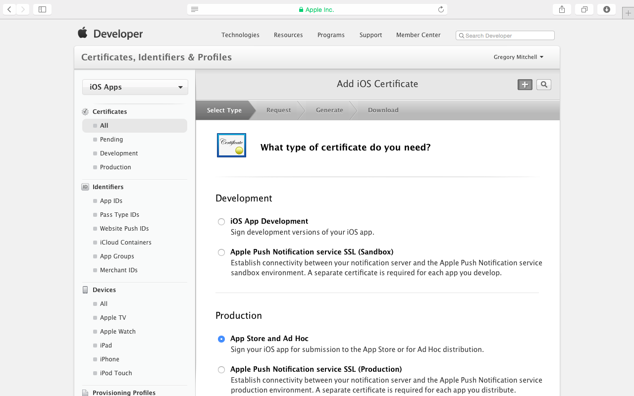 Submit Apache Cordova Applications For Ios And Android To The Apple